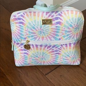 Betsey Johnson tie dye back pack purse!